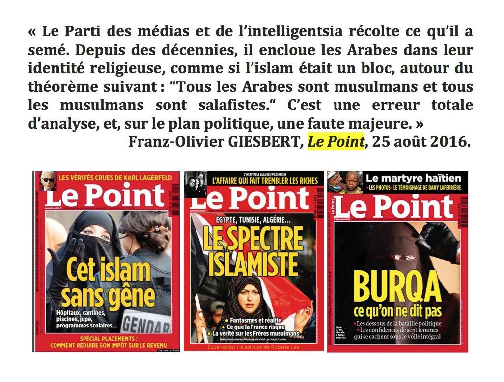 Musulmans : le point sur Le Point
