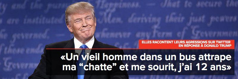 "Trump et les femmes :""Grab them by the pussy"""