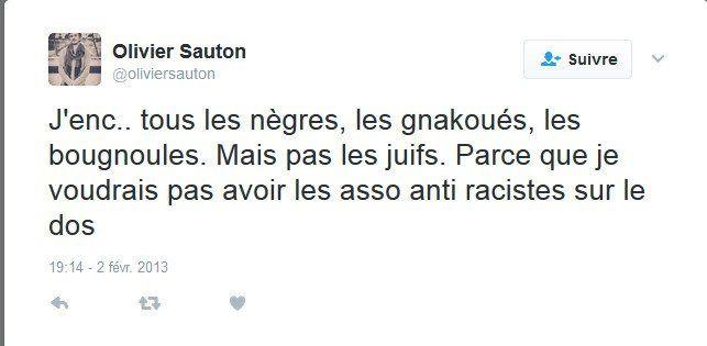 Les curieux tweets d'Olivier Sauton