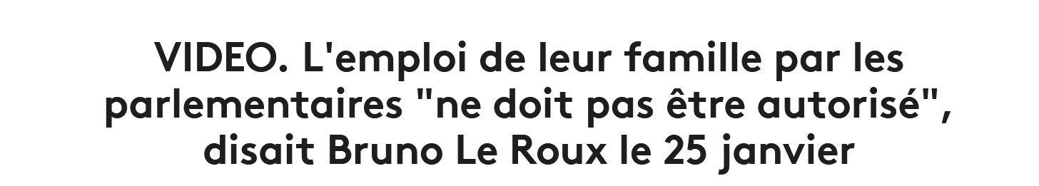 Le Roux : 24 CDD à 55 K€ pour ses filles lycéennes