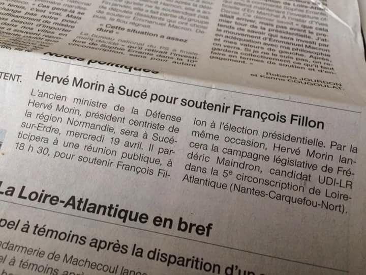Le charme de Ouest France...