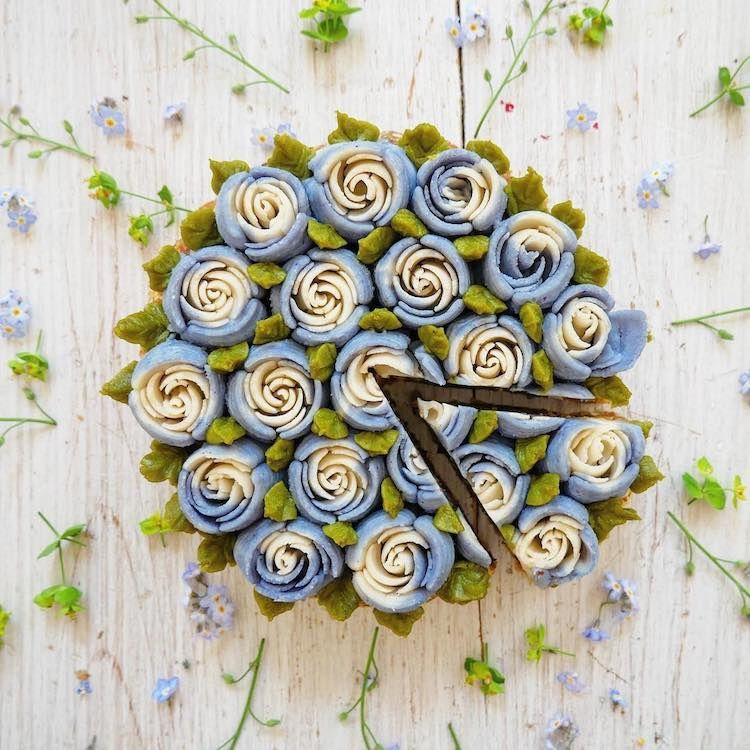 Les gâteaux-fleur ! Quel enchantement !