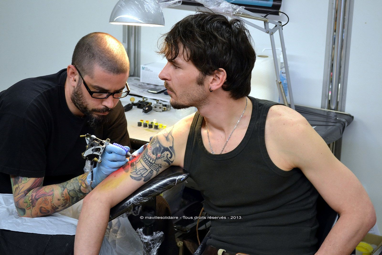 La Roche-sur-Yon: 6e convention tatouage le samedi 26 et dimanche 27 avril 2014.