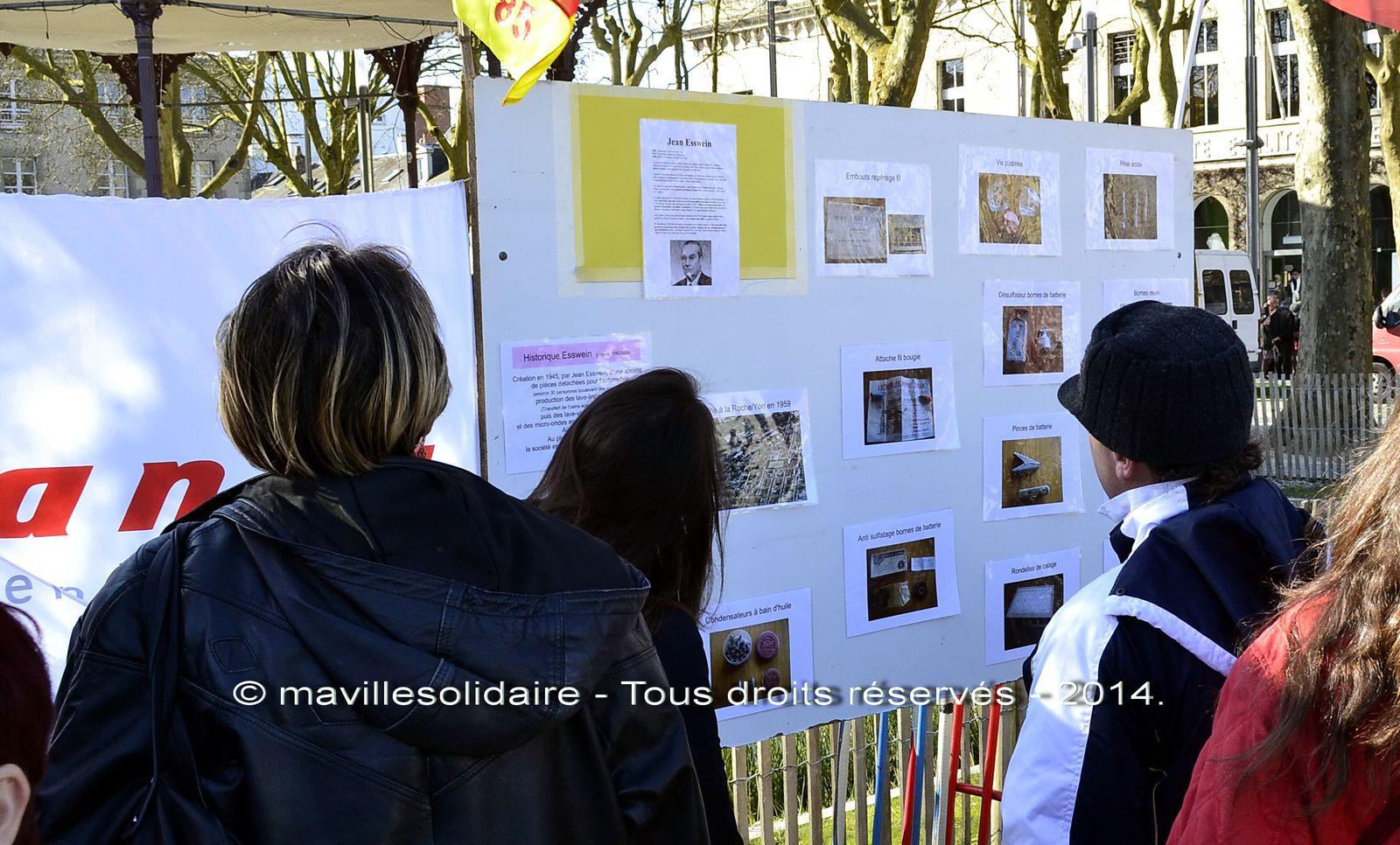 La Roche-sur-Yon. Les salariés de Fagor Brant exposent leurs savoir-faire.