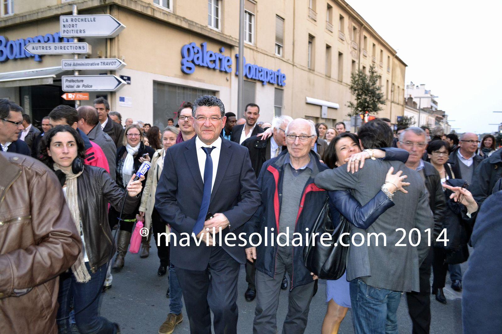 Les Yonnais ont parlé : Luc Bouard dirigera la Roche-sur-Yon pendant les six prochaines années.