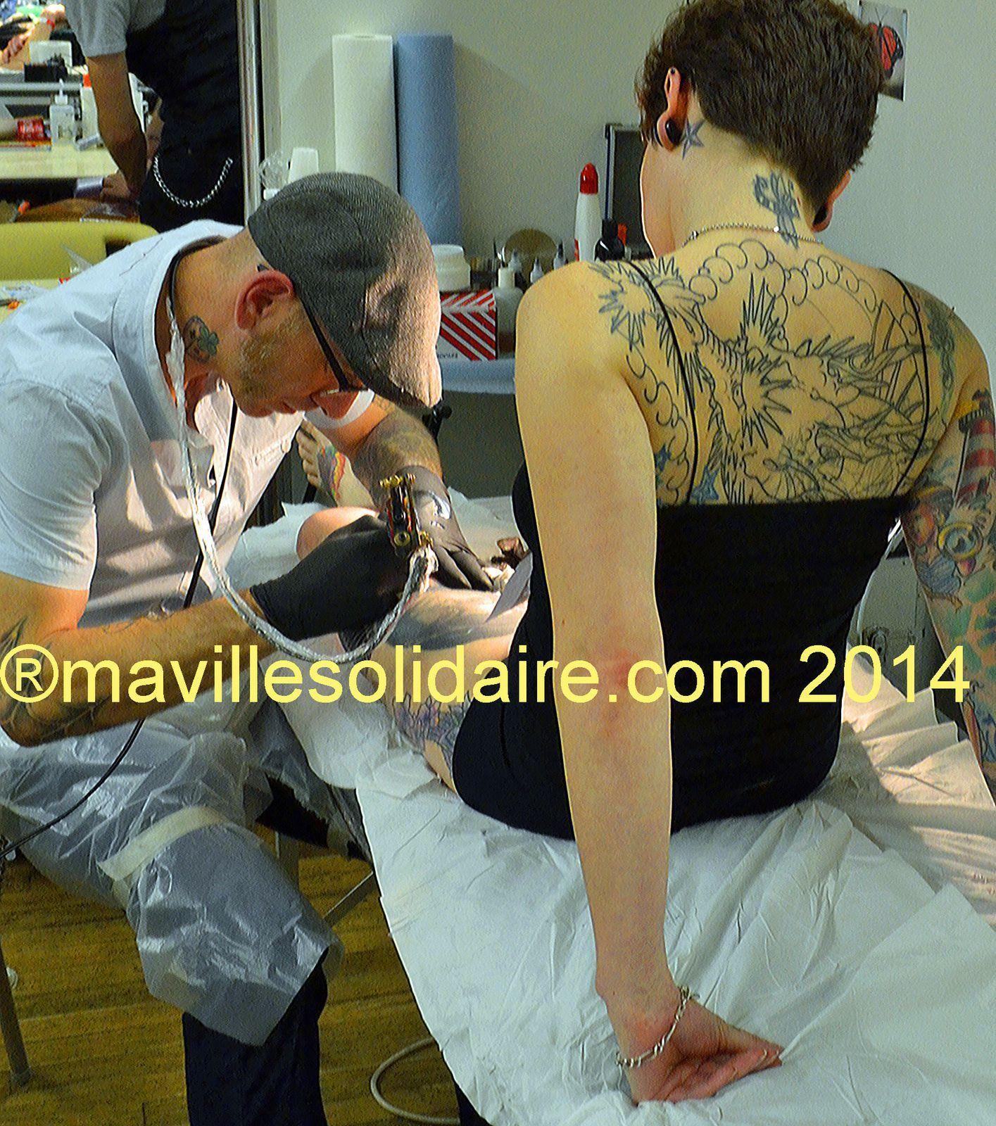 La Roche-sur-Yon. [Images] de la 6e convention tattoo.