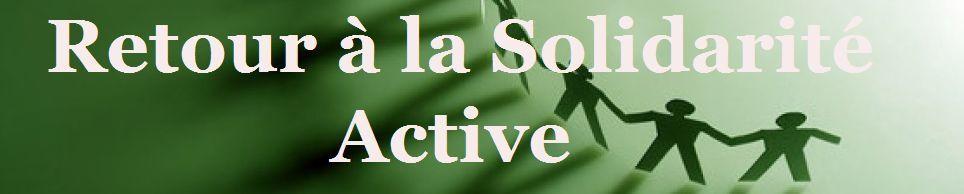 La solidarité s'organise à la Roche-sur-Yon. R.S.A &quot&#x3B;retour à la Solidarité Active&quot&#x3B;