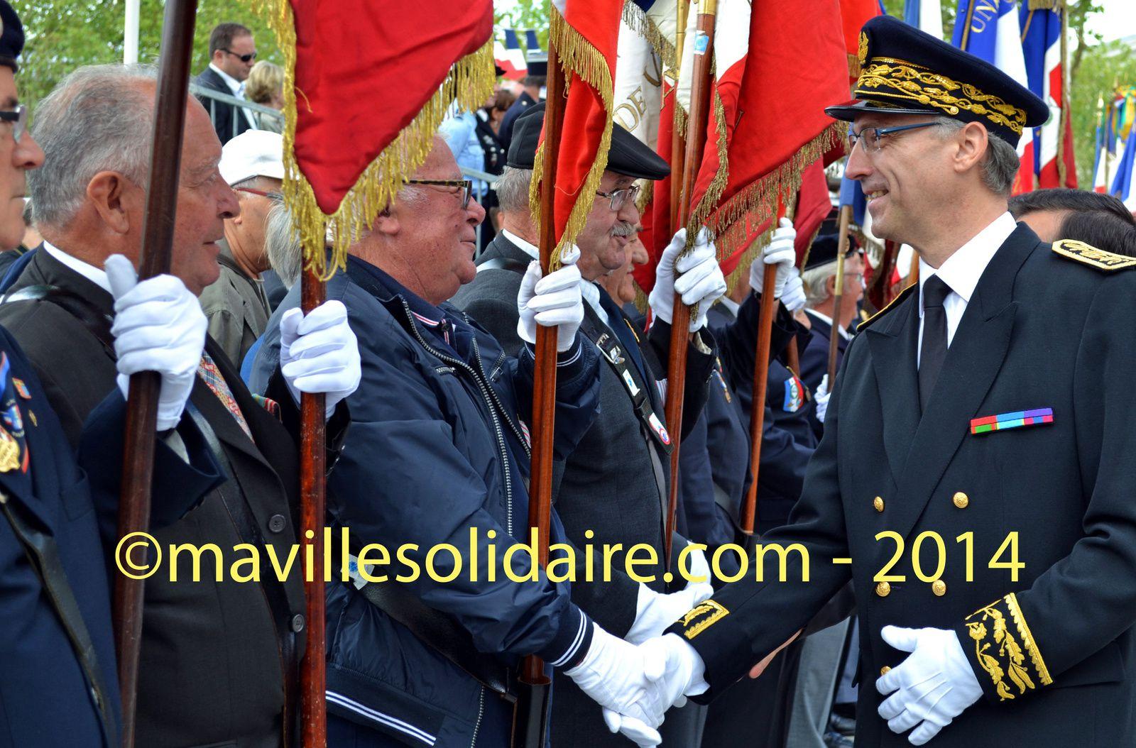 La Roche-sur-Yon du défilé du 14 juillet 2014.
