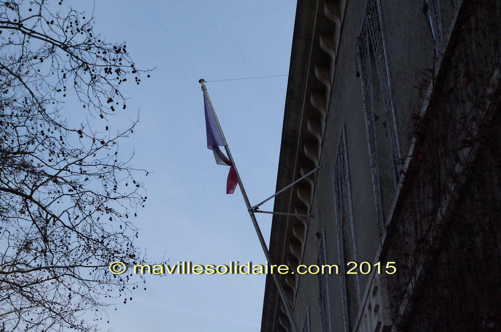 Attentat à Charlie Hebdo : la Roche-sur-Yon, une ville unie et solidaire!