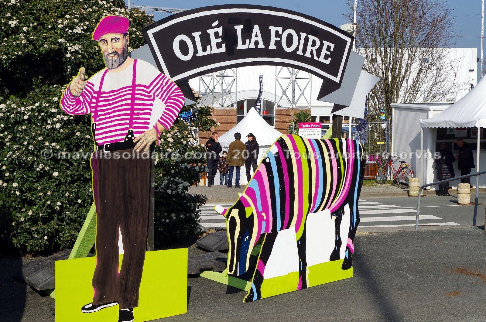 Olé la foire la Roche-sur-Yon Foire exposition Oudairies.