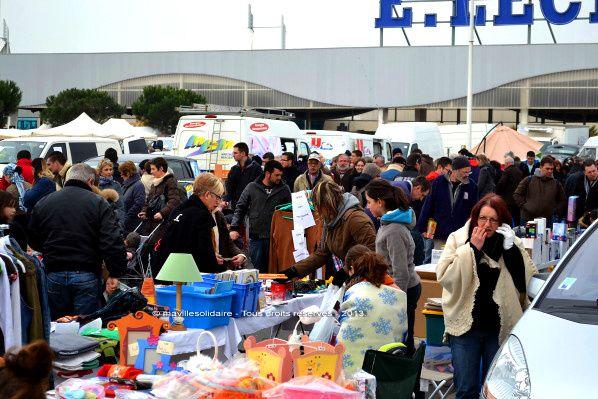 La Roche-sur-Yon. Vide-grenier géant dimanche 5 avril 2015.