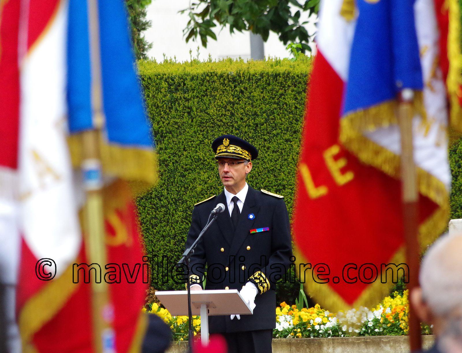 La Roche-sur-sur Yon. Commémorations du 8 mai 1945.