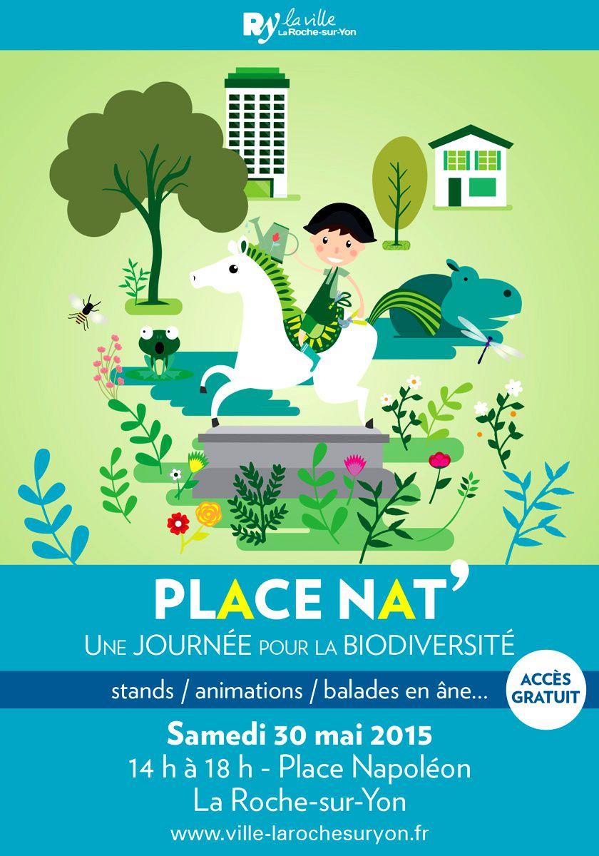 La Roche-sur-Yon. Journée de la biodiversité &quot&#x3B;Place Nat&quot&#x3B;