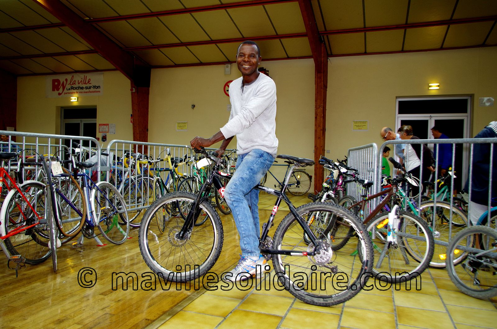 La Roche-sur-Yon. Gros succès de la bourse aux vélos.