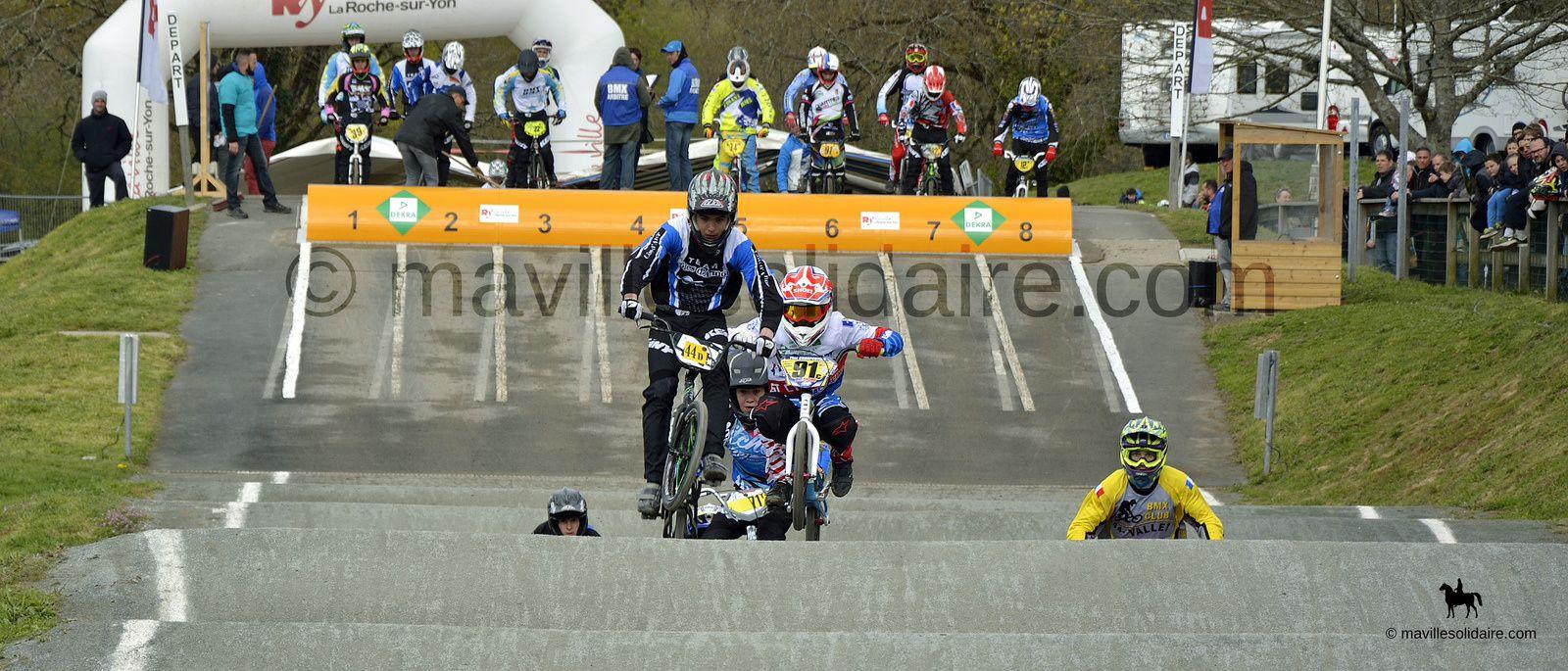 La Roche-sur-Yon. «Challenge de France BMX» (Nord-Ouest) à la Géné.