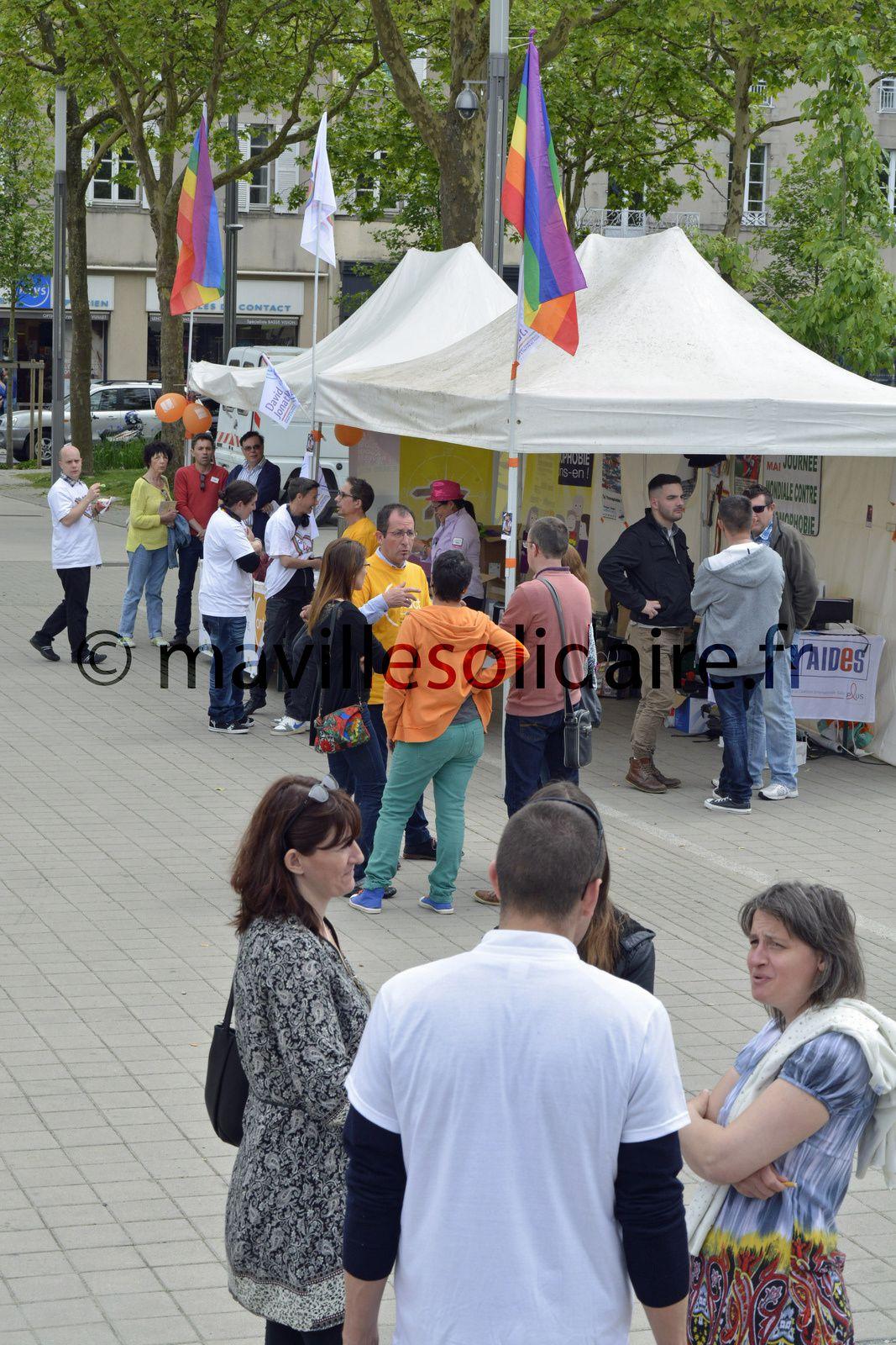 La Roche-sur-Yon. Malgré une baisse, les actes homophobes restent nombreux.