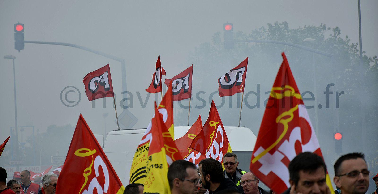 La Roche-sur-Yon. Loi travail 500 manifestants.