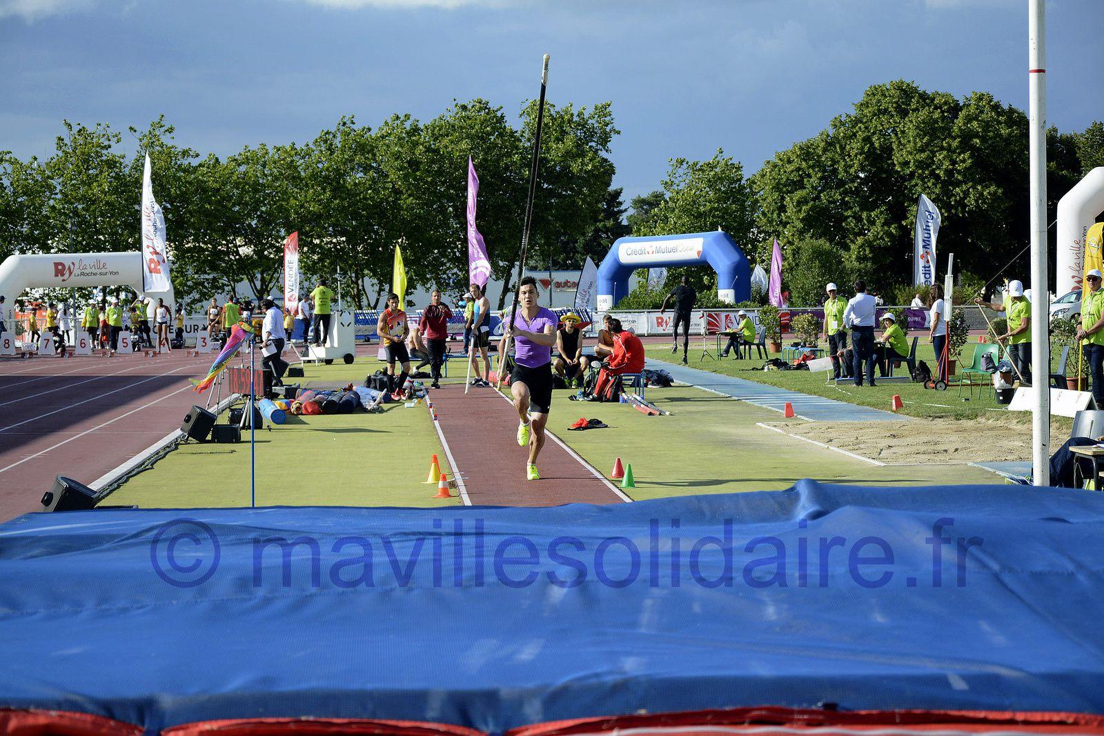 La Roche-sur-Yon. [Images] du Meeting Élite Athlétisme