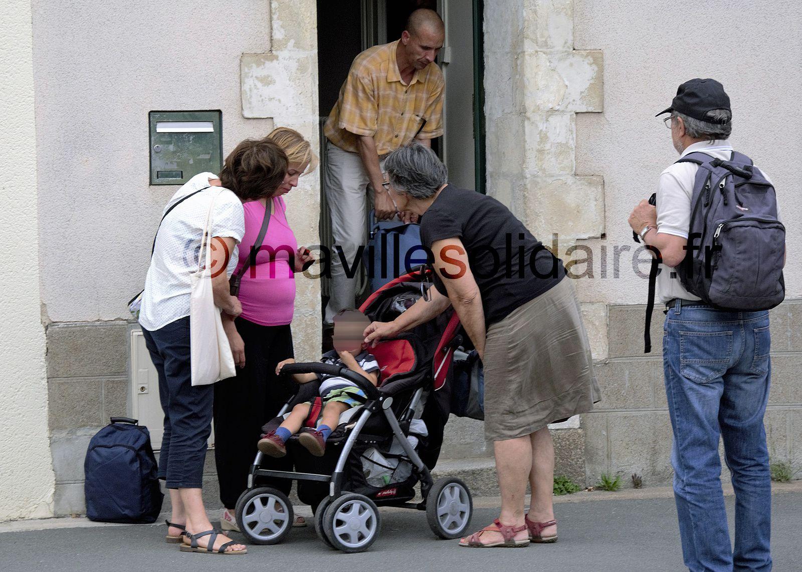 La Roche-sur-Yon. Une nouvelle famille expulsée.