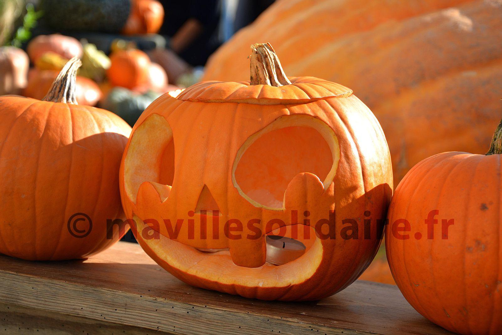 La Roche-sur-Yon. Halloween s'invite au marché Bio.