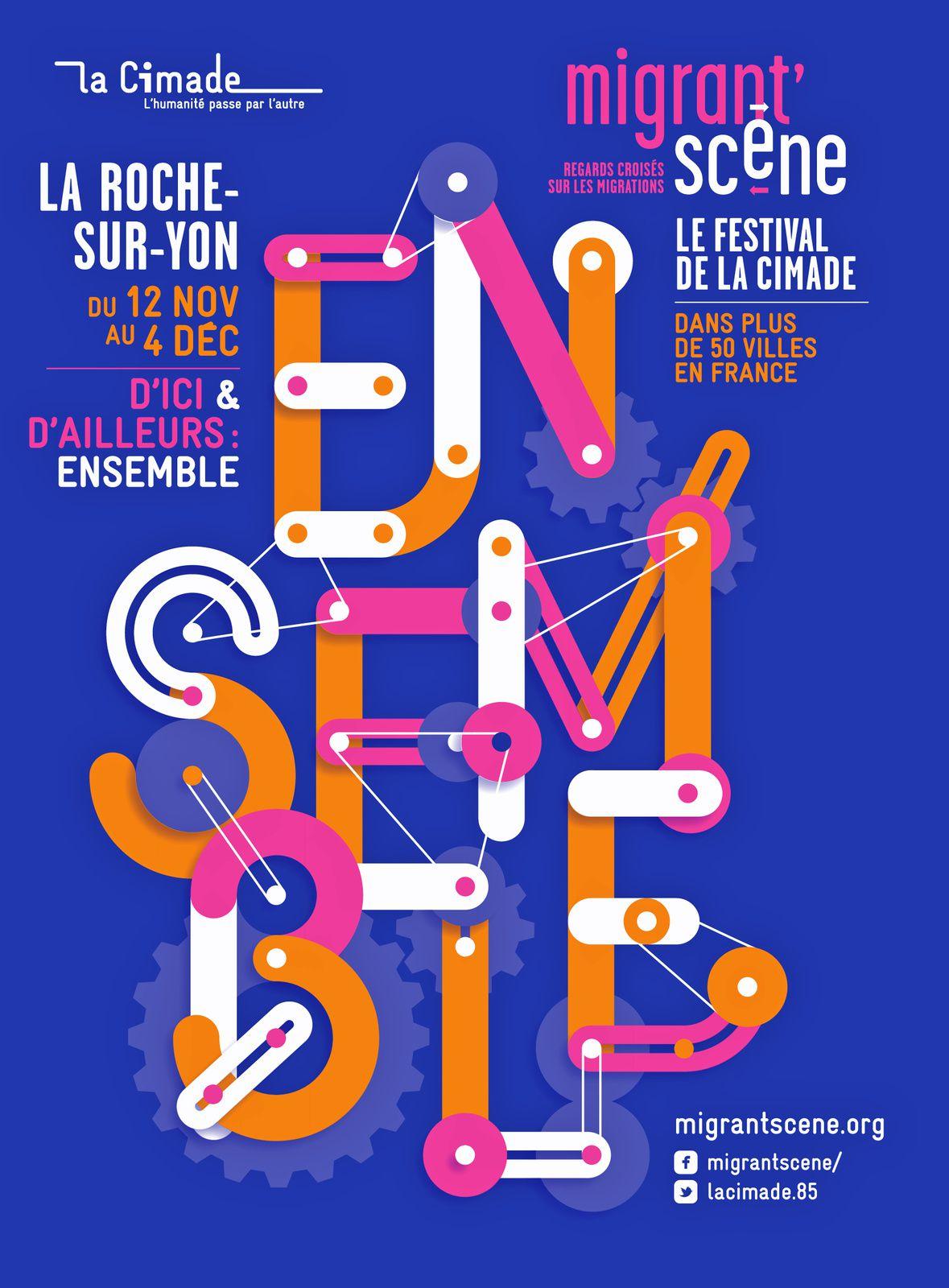 La Roche-sur-Yon. Festival Migrant'Scène du 12 novembre au 4 décembre 2016