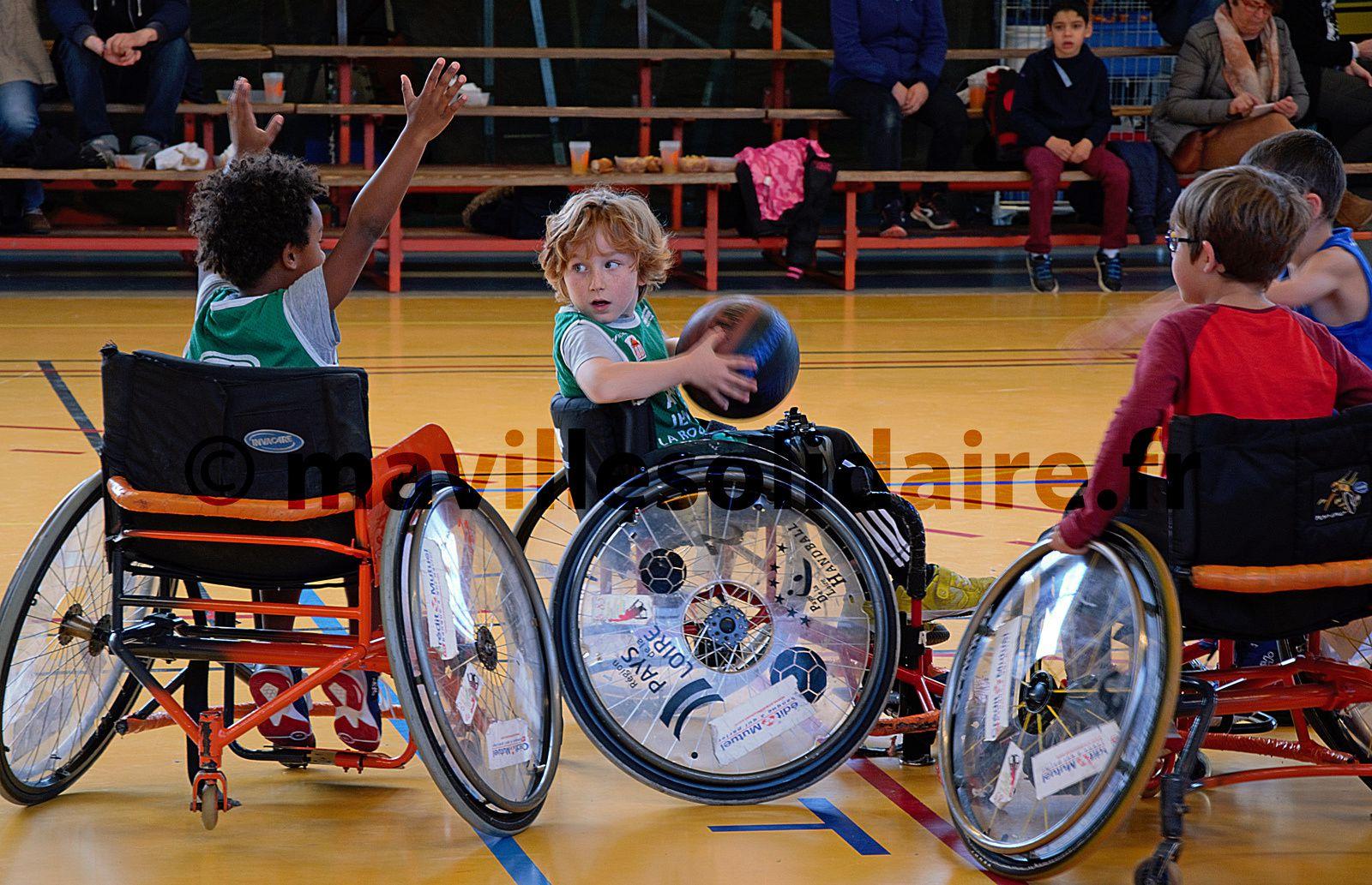 La Roche-sur-Yon. Une équipe Handi Basket au BCY