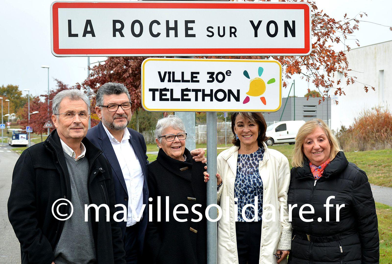 La Roche-sur-Yon. Le cœur de la ville va battre pour le Téléthon.
