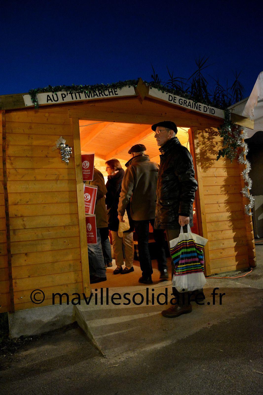 La Roche-sur-Yon. Le Marché de Noël de graine d'ID.