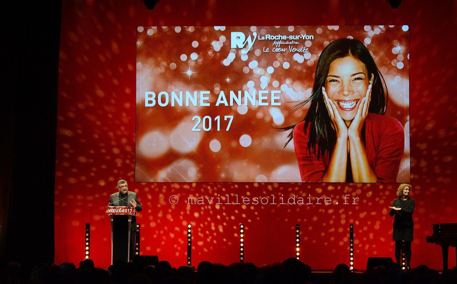 La Roche-sur-Yon. Les derniers vœux de Luc Bouard comme maire ?