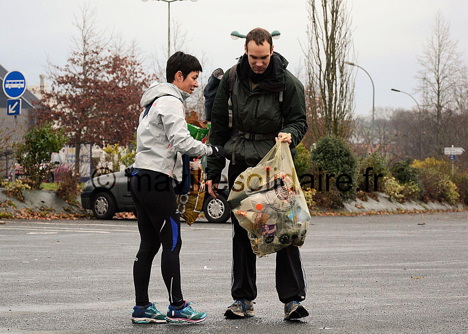 Run Eco a couru pour l'environnement à La Roche-sur-Yon.