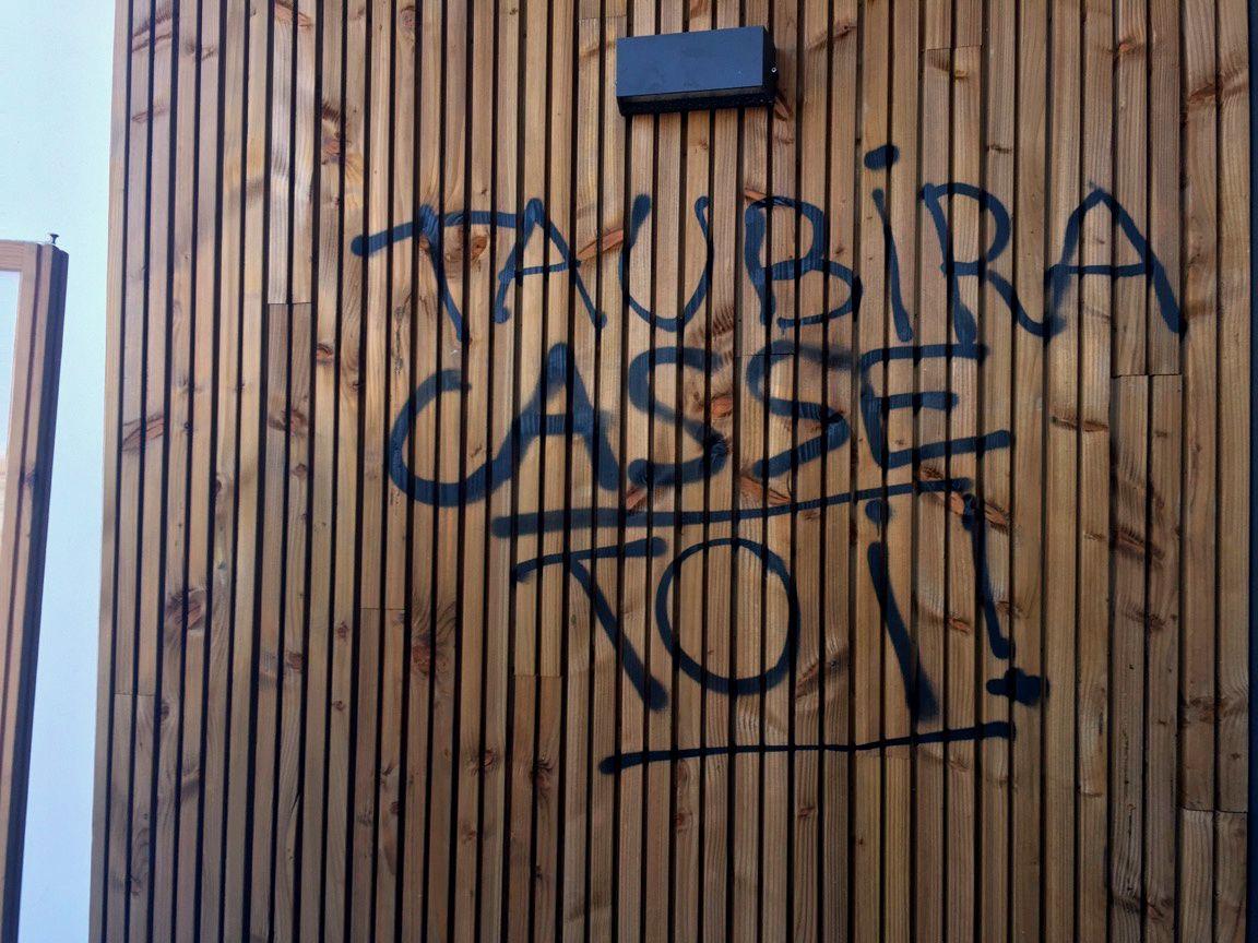 La Roche-sur-Yon. Christiane Taubira était à la Roche ce matin.