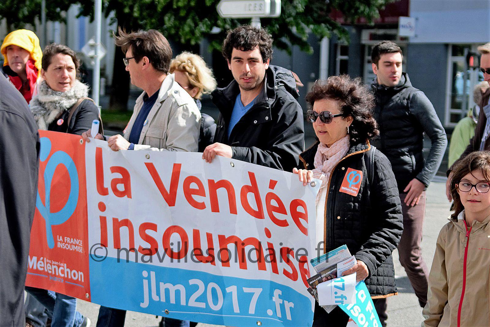 La Roche-sur-Yon. Défilé du 1er mai sur fond d'élection présidentielle…