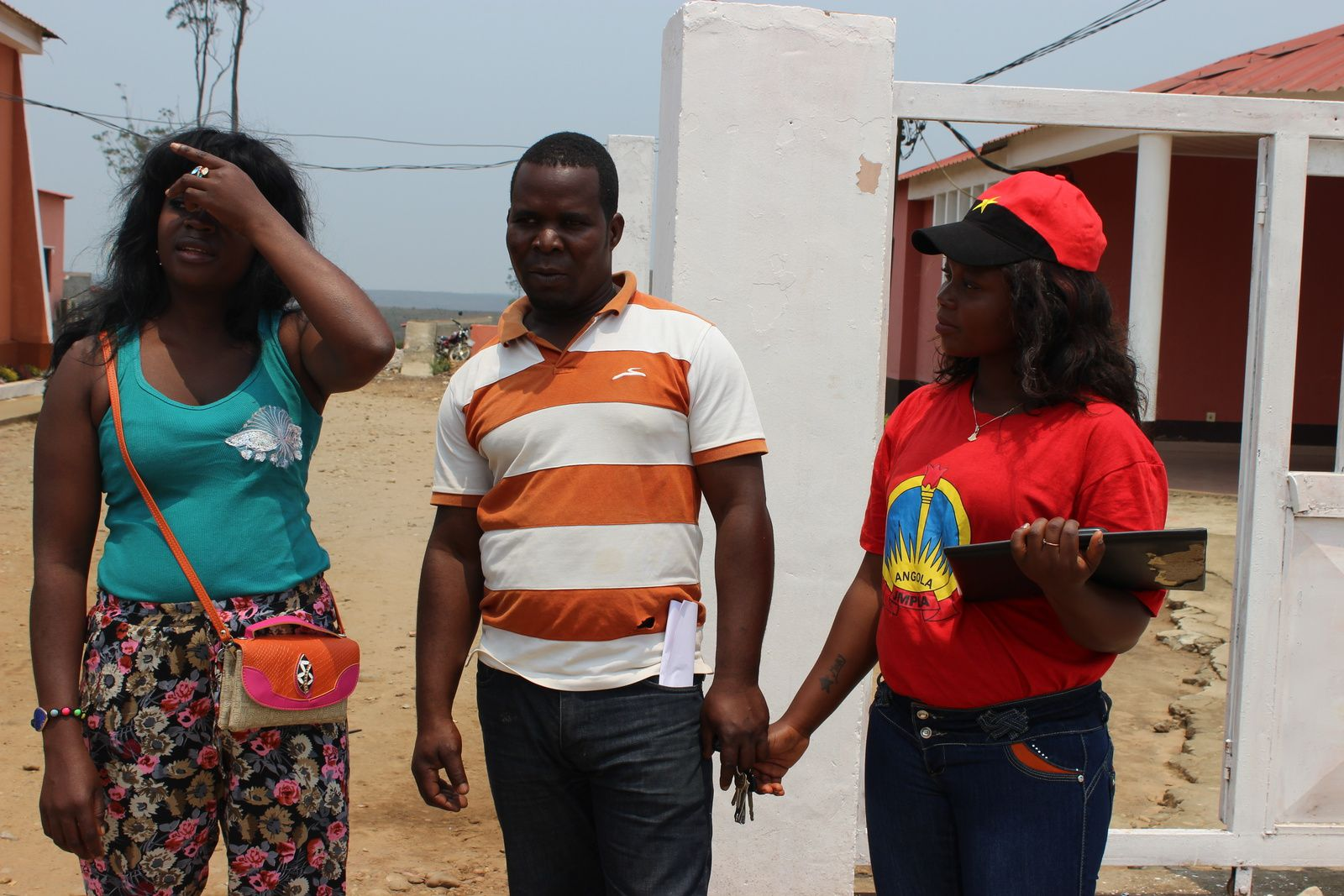 Os jovens da Damba, afilhados na JMPLA