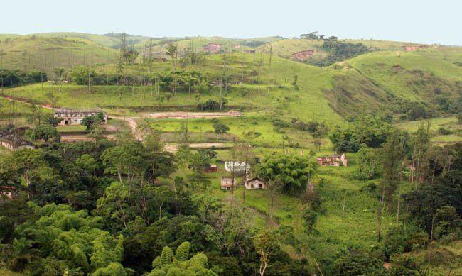 As minas do Mavoyo, no município de Makela do Zombo. Imagem de arquivo