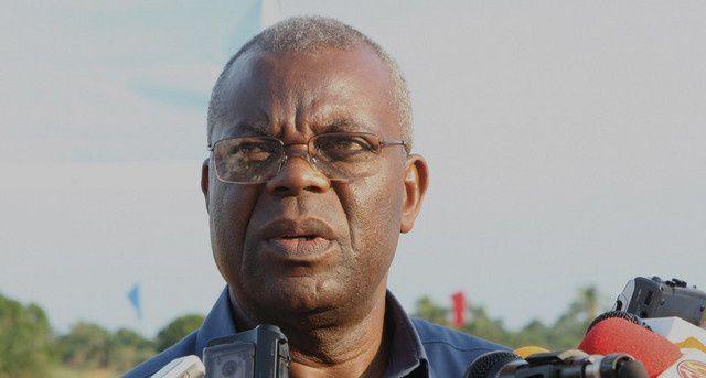 O presidente da Mesa de Assembleia da Plataforma Azombo, Mawete João Baptista. Imagem de Arquivos