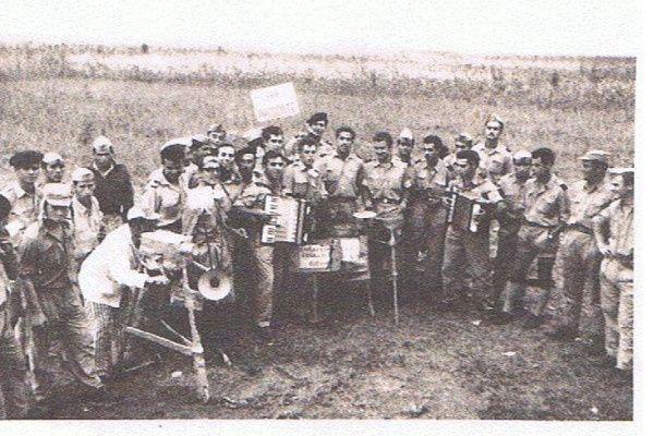 Os soldados do Bat.141 na Damba, em 1962