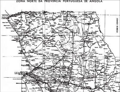 "Carta da ""Zona Norte da Província Portuguesa de Angola"" [3]"