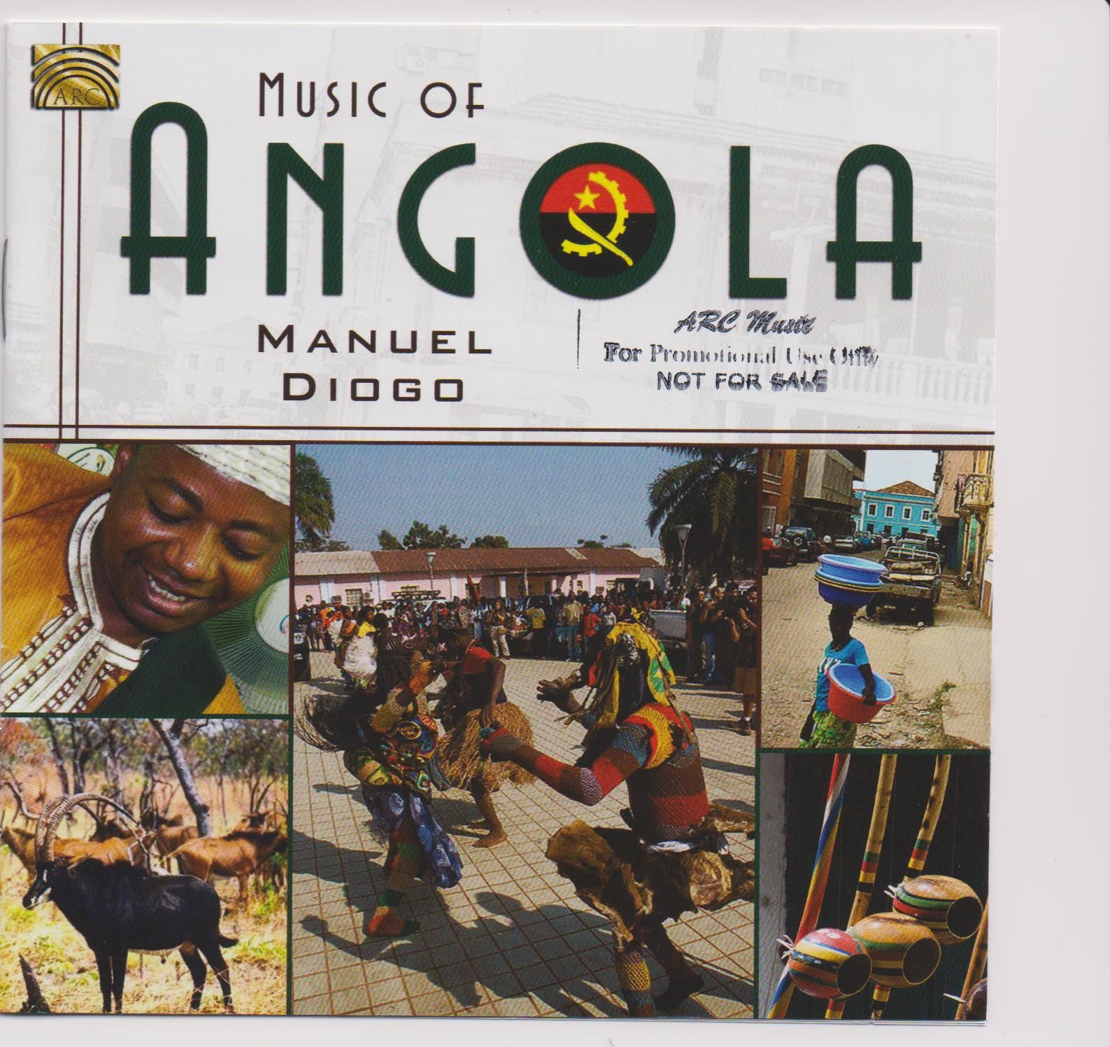 Yaweh Deus de Angola, o novo CD de Manuel Diogo
