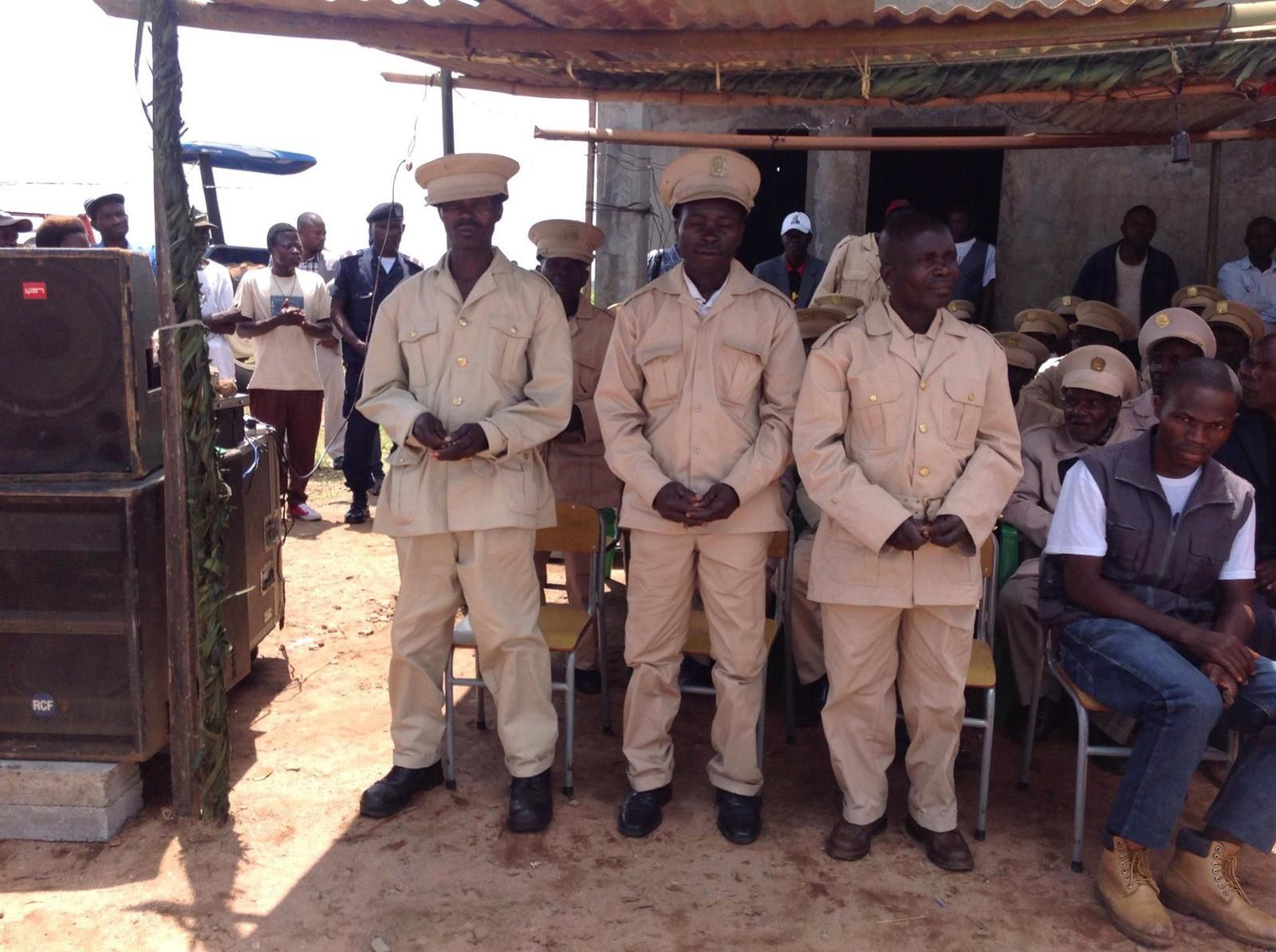 A comeoração do dia da independência em Angola