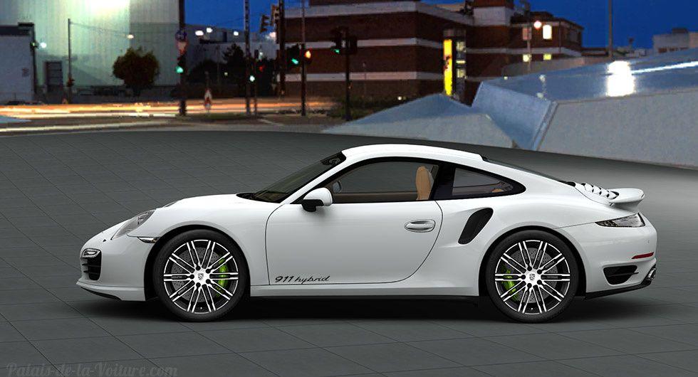 Une Porsche 911 (991) Turbo Hybrid pour 2017 !