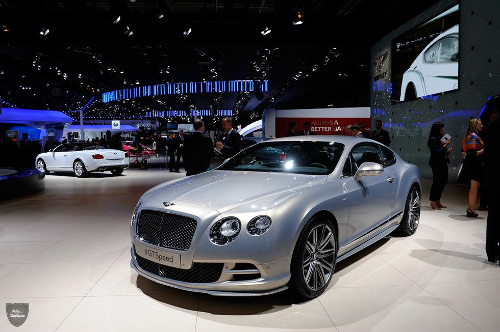 Bentley Continental GT Speed : classe British