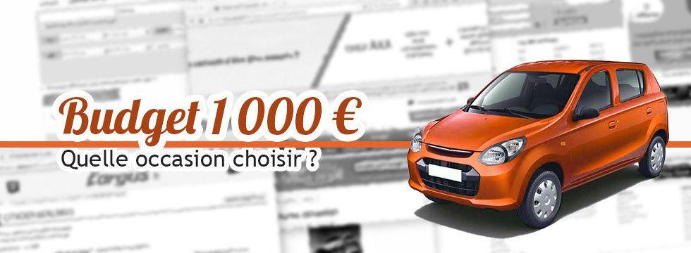 Budget 1 000 € : quelle occasion acheter ?