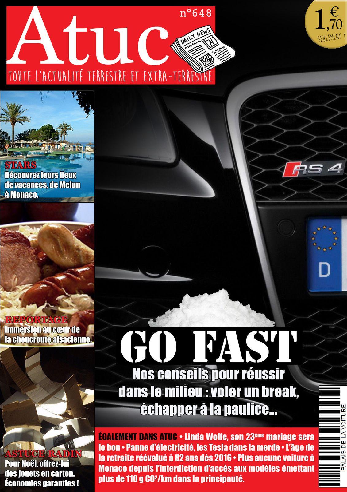 Atuc n°648 • Devenir un bon Go Fast en quelques leçons.