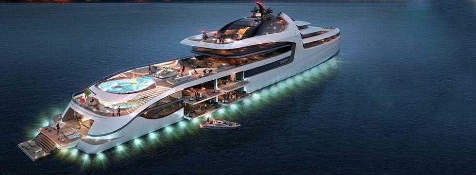 Pour financer un tel yacht, un blog ne suffira (probablement) pas.