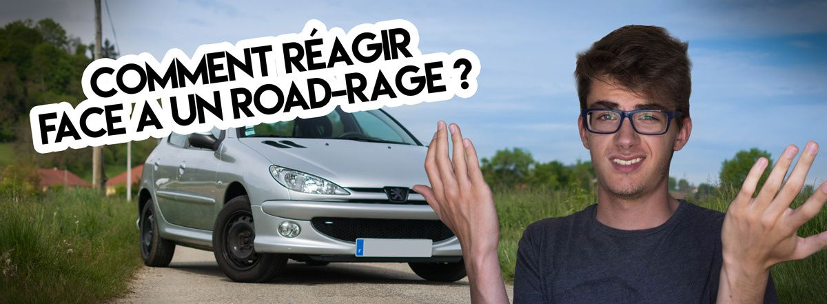 Comment réagir face à un road-rage ?