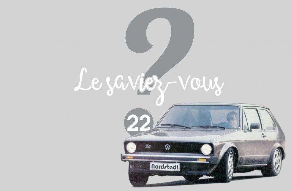 Le saviez-vous ? #22