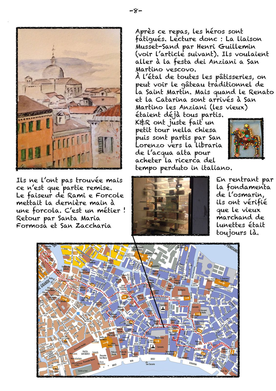Alla ricerca della ricerca - Venise, suite