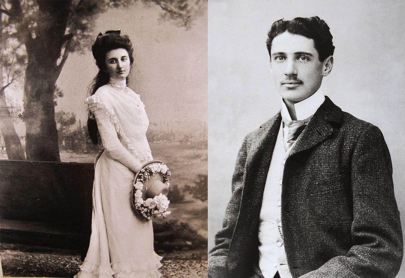 Élaine Greffulhe et Armand de Gramont
