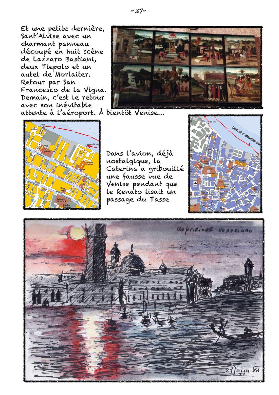 Venise 24 novembre et retour