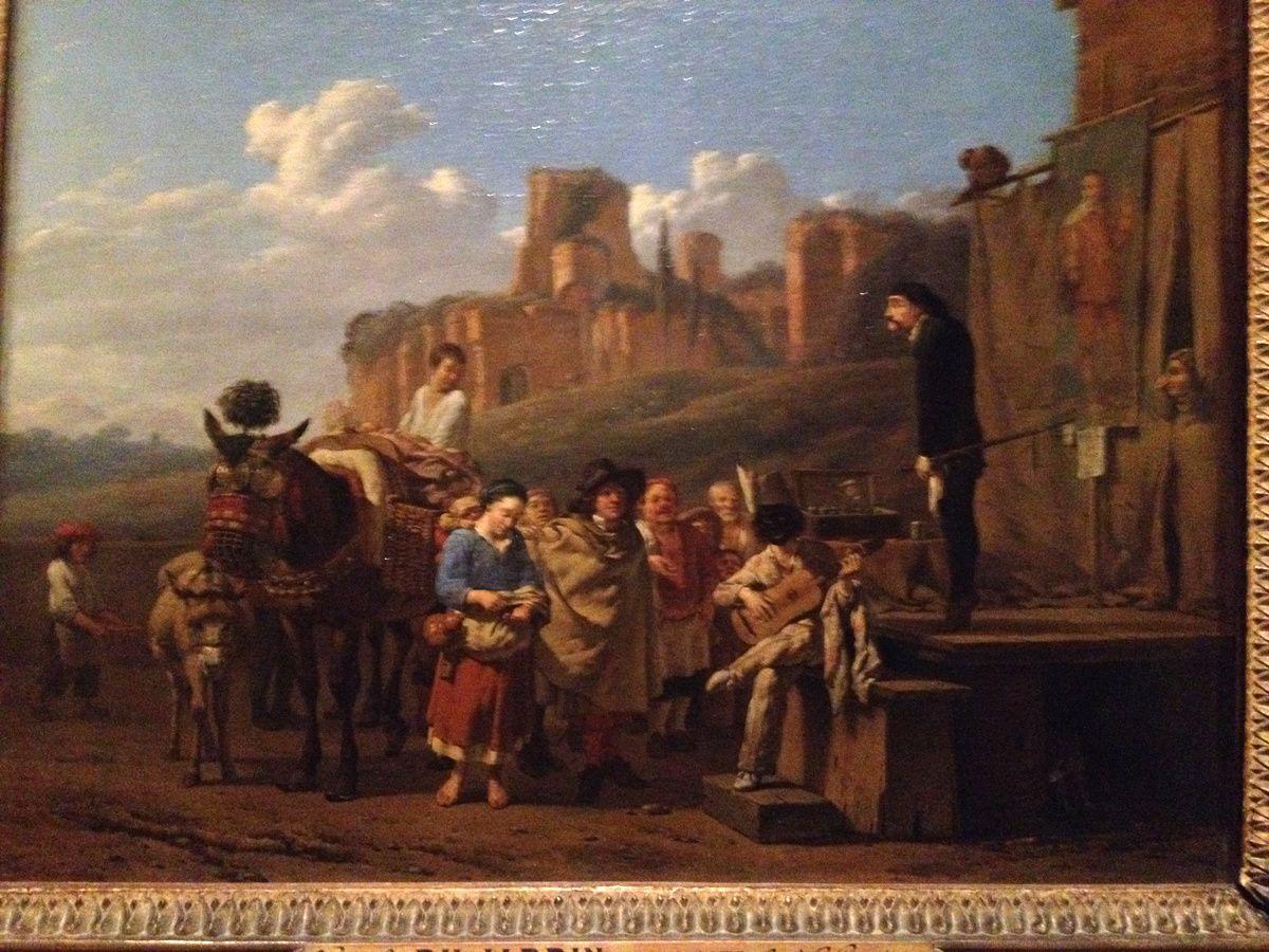 la mano fica, les bas fonds du baroque au Petit Palais